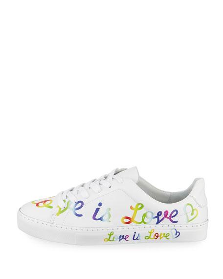 Love is Love Leather Sneaker