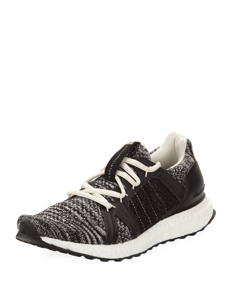 buy online e86d1 a6dae Adidas By Stella Mccartney Ultra Boost Parley Knit Trainer Sneakers, Black  In Black White
