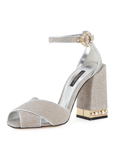 Glitter d'Orsay 105mm Sandal
