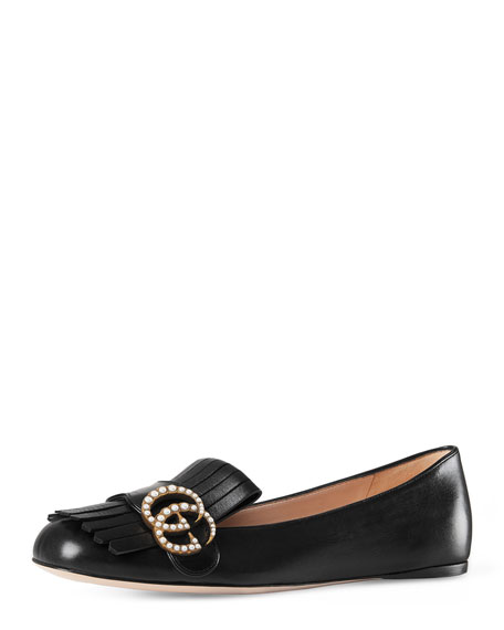 Marmont Pearly-GG Ballerina Flat
