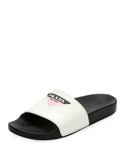 Logo Rubber Pool Slide Sandal