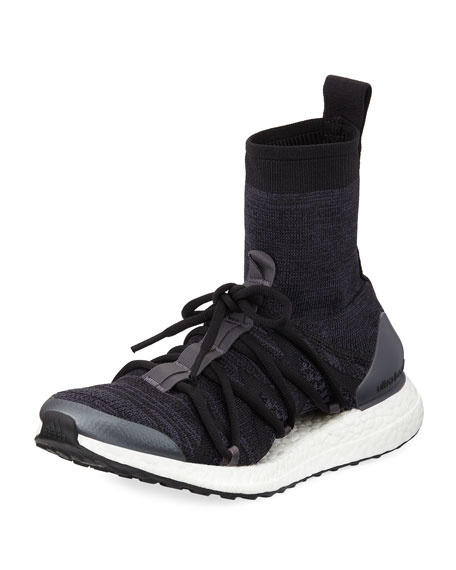 Ultra Boost Mid-Sock Trainer Sneaker
