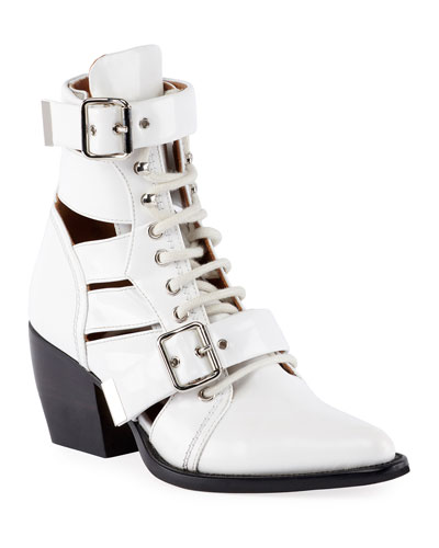 Riley Lace-Up Box Calf Boot