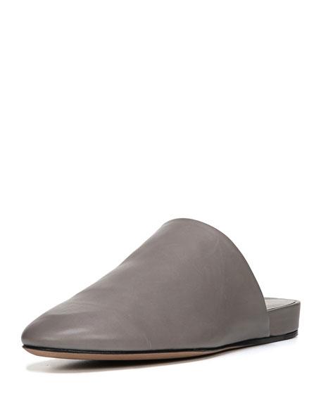 Oren 2 Leather Flat Mule