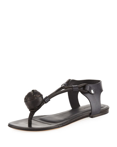 Jarley Leather Thong Sandal