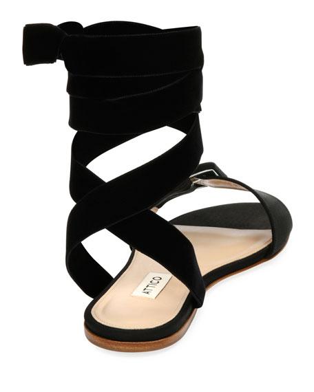 Jole Ankle-Wrap Sandal