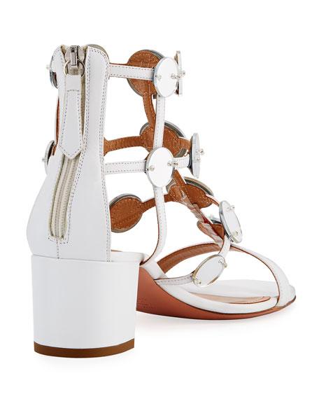Indian Moon Block-Heel Sandal