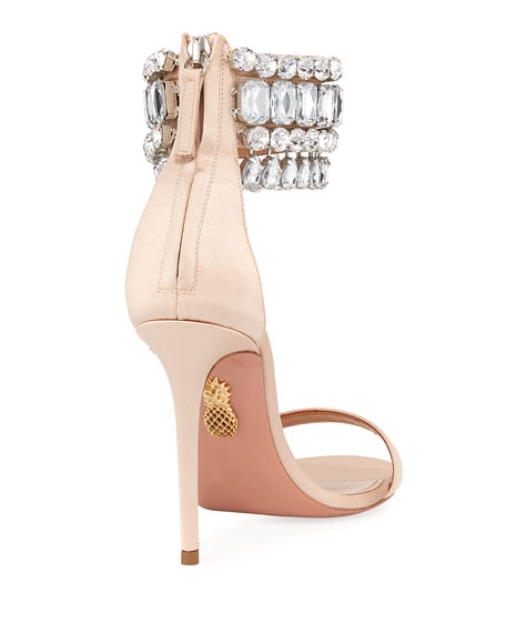 Gem Palace Satin Sandal