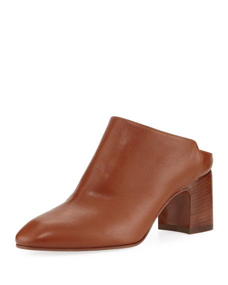 Elisabetta Block-Heel Mule