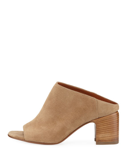 Ellen Suede Mule Sandal