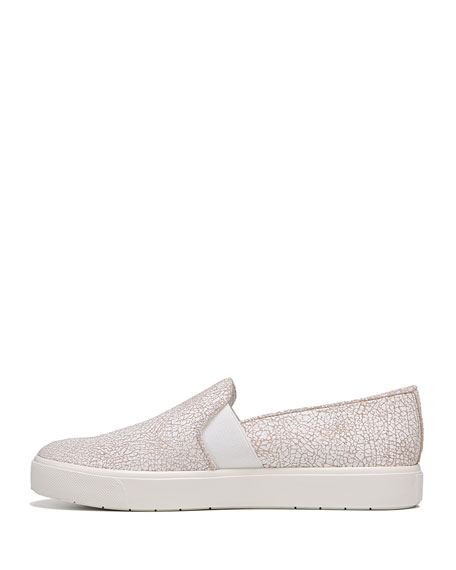 Blair Cracked Leather Platform Sneakers