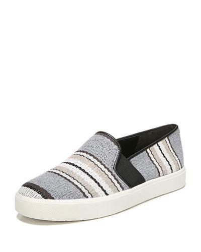 Blair Striped Fabric Sneaker