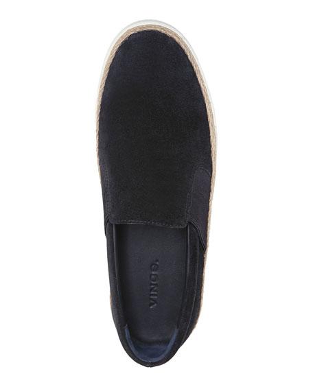 Johan Suede Flat Sneaker