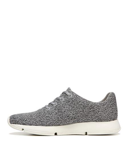 Trellis Lace-Up Fabric Sneaker