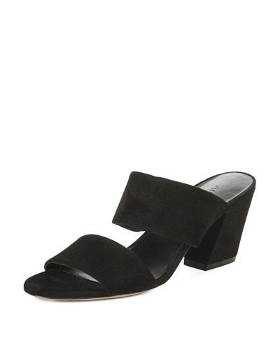 Benetta Suede Slide Sandal
