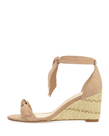 Clarita Suede Wedge Sandal