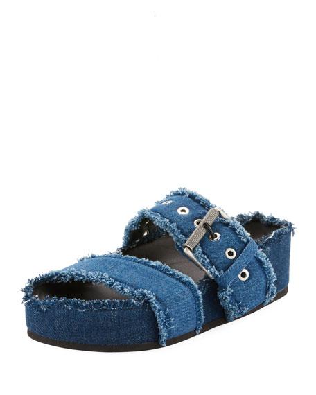 c7ac019f1416 Rag   Bone Evin Denim Platform Sandal