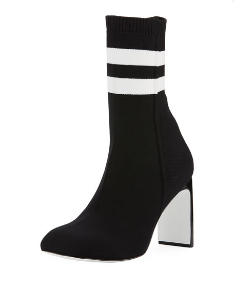 Ellis Striped Sock Boot