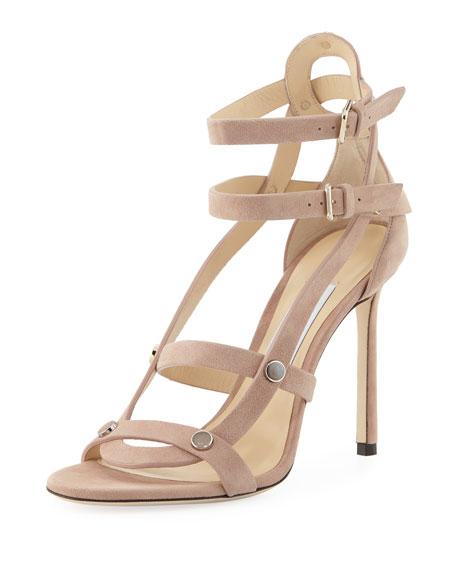 Motoko Suede Cutout Sandal