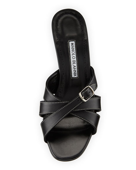 Ducato Strappy Leather Slide Sandal