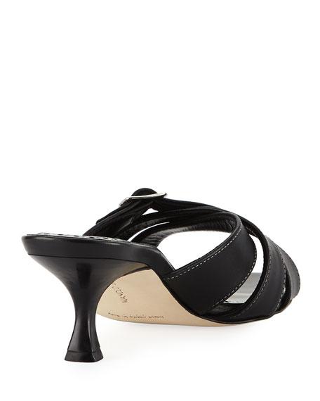 Ducato Strappy Leather Slide Sandal