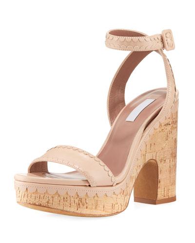 Calla Cork Platform Sandal