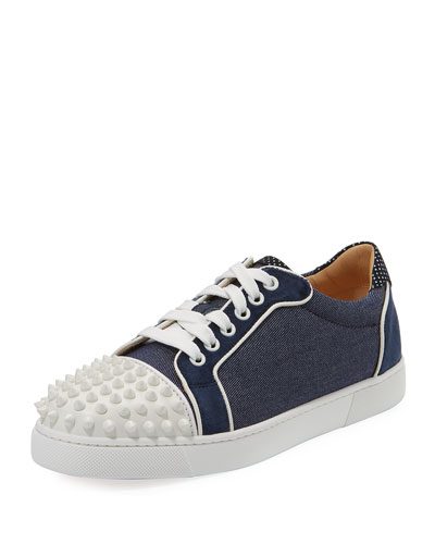 Viera Spikes Red Sole Sneaker
