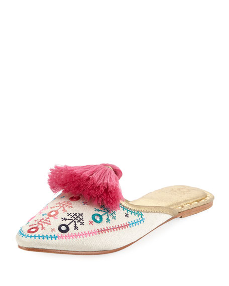 cheap sale great deals Figue Joanna Embroidery -Audrey mules ebay online DS82MKV