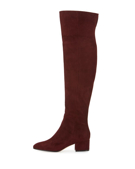 Suede Over-the-Knee 45mm Boot