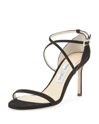 Hesper Suede Crisscross Sandal