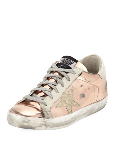 Superstar Metallic Platform Sneaker