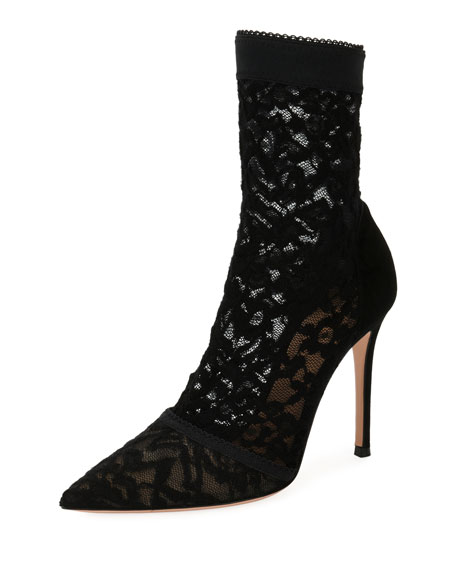 Stretch-Lace 105mm Booties