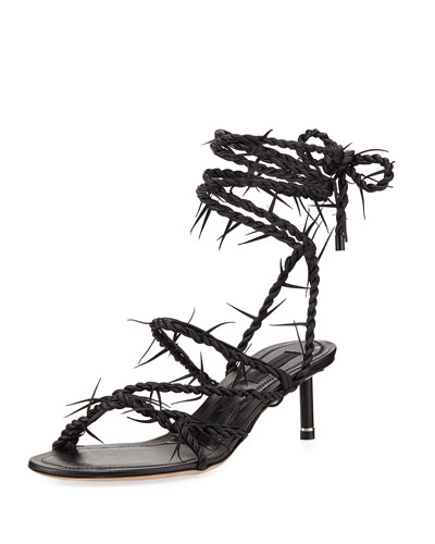 Kiki Barbwire Runway Sandal