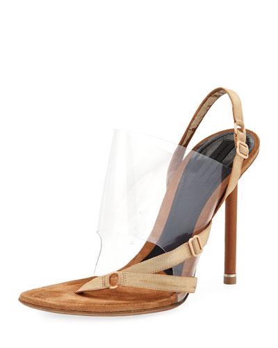 Kaia Slingback Transparent Sandal