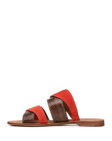 Blake Flat Double-Band Sandal