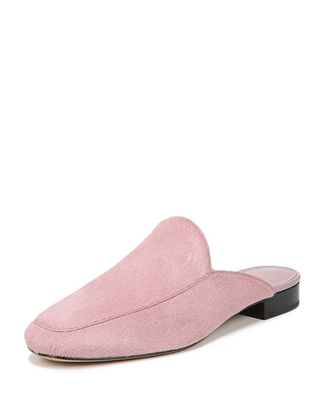 Lexington Flat Calf Hair Mule
