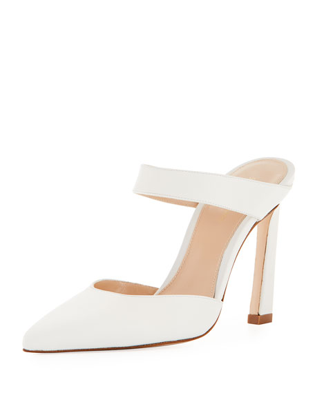 Eventually Leather Mule Pump