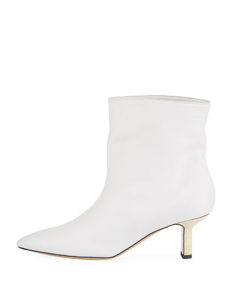 Mangold Leather Ankle Booties