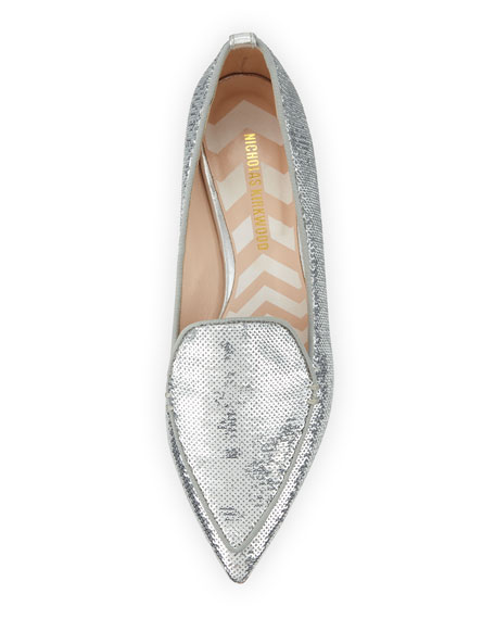 Beya Sequined Loafer Flat