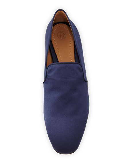 Alys Satin Loafer Flat