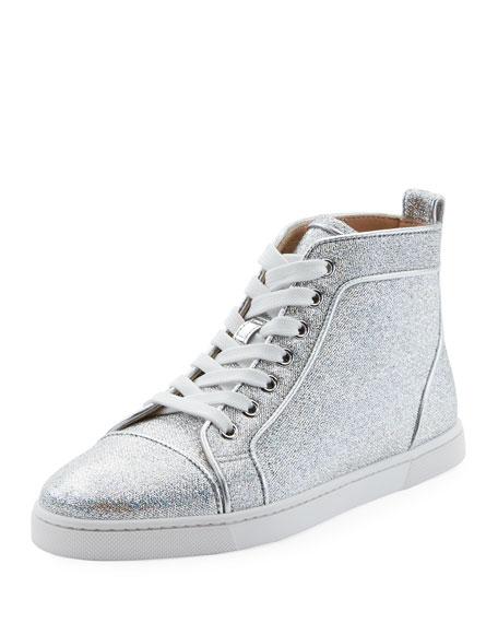 Christian Louboutin Bip Bip Woman Orlato High-Top Sneakers