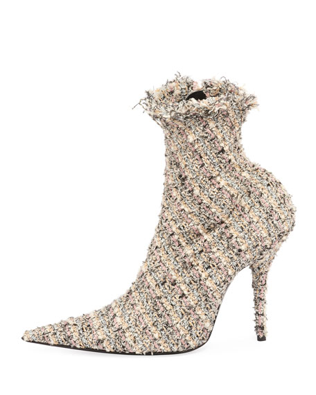 Tweed 110mm Booties