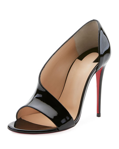 Phoebe Asymmetric Red Sole Pump