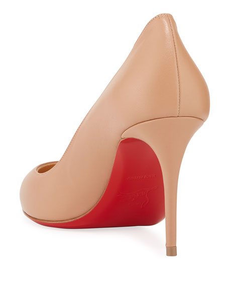 ca9f2e6dd19a Christian Louboutin Eloise 85mm Napa Leather Red Sole Pumps