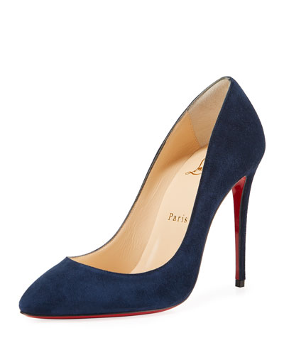 d2fa0afdbd95 Eloise 100mm Suede Red Sole Pump Quick Look. Christian Louboutin
