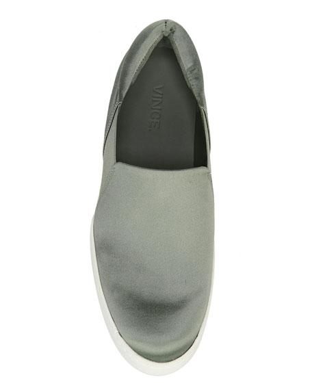 Warren Satin Platform Sneaker