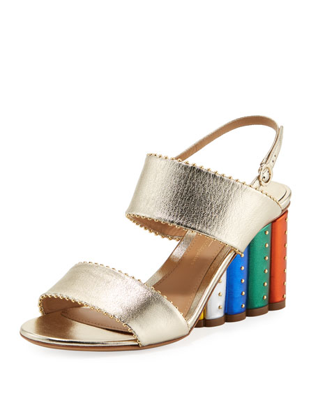 Salvatore Ferragamo Metallic Crossover Sandals cheap sale with mastercard cheap 2014 unisex buy cheap big discount from china online 61w6aeNo