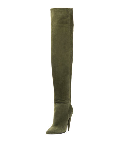 Era Suede Over-the-Knee Boot