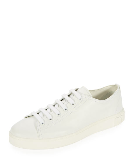 Lace-Up Patchwork Sneakers