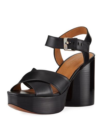 Viannel Teardrop Heel Sandal